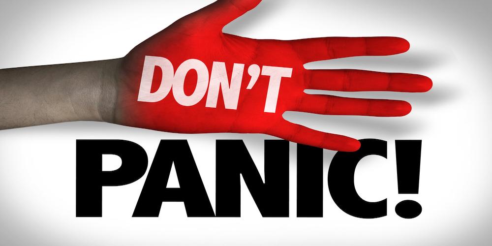 Prophet Climate Ministries dont-panic- Don't Panic Affirmation
