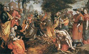 Prophet Climate Ministries St-Paul-casts-viper-into-fire-painting-by-Marten-de-Vos-public-domain-300x181 St Paul casts viper into fire, painting by Marten de Vos, public domain