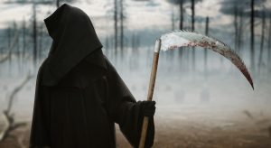 Prophet Climate Ministries chop_ree-300x164 Death with a scythe in the dark misty forest