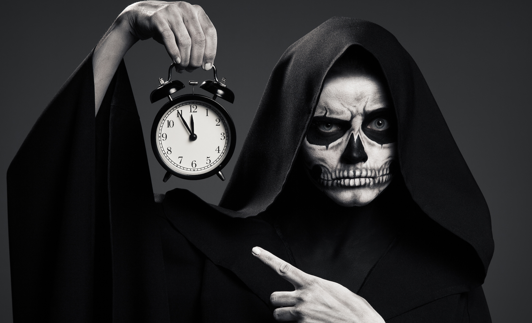 Prophet Climate Ministries scary-death-hold-a-watch-in-his-hand-realistic-P4ZN4FZ I Saw That If You're Not Careful...You Are About To Commit Yourself To A Lifetime Of Troubles...! And This Is How - Click Here Now!