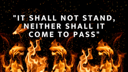 """Prophet Climate Ministries Red-Banner-Couple-YouTube-Thumbnail-2 Thus Says The Lord """"It Shall Not Stand, It Shall Not Come To Pass!"""" Only A Few Hours Left Until The First Fire Service Of The Year ... Have You Submitted Your Prayer Request Yet?"""
