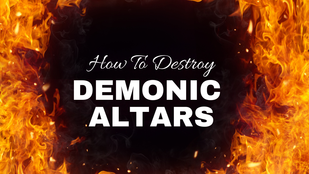 Prophet Climate Ministries 1 Be Strong & Courageous Day 8: I Saw A Demonic Altar That Was Risen Up Against You ... Tonight It Must Burn!!!