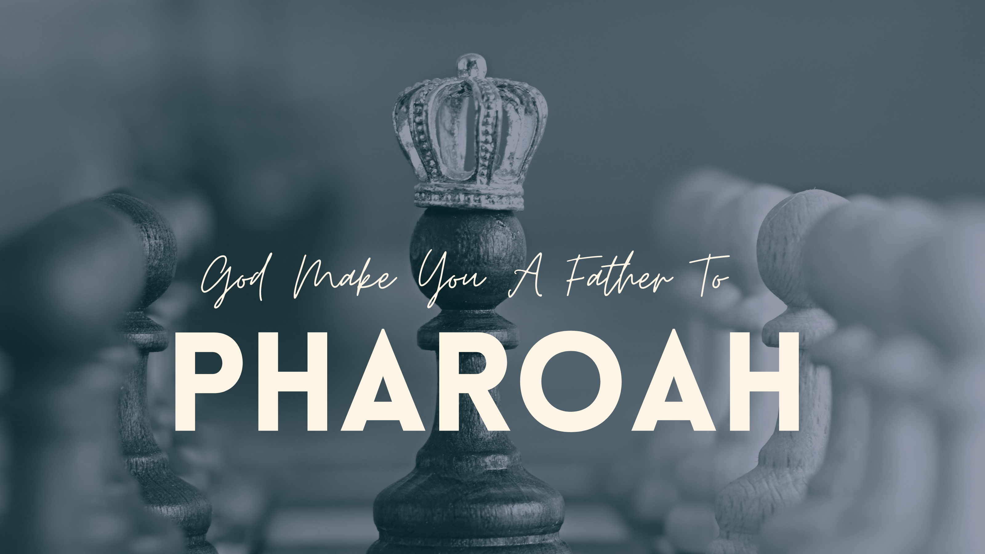 Prophet Climate Ministries pharaoh-2 Be Strong & Courageous Day 2: May God Make You A Ruler In Life ! Click Now