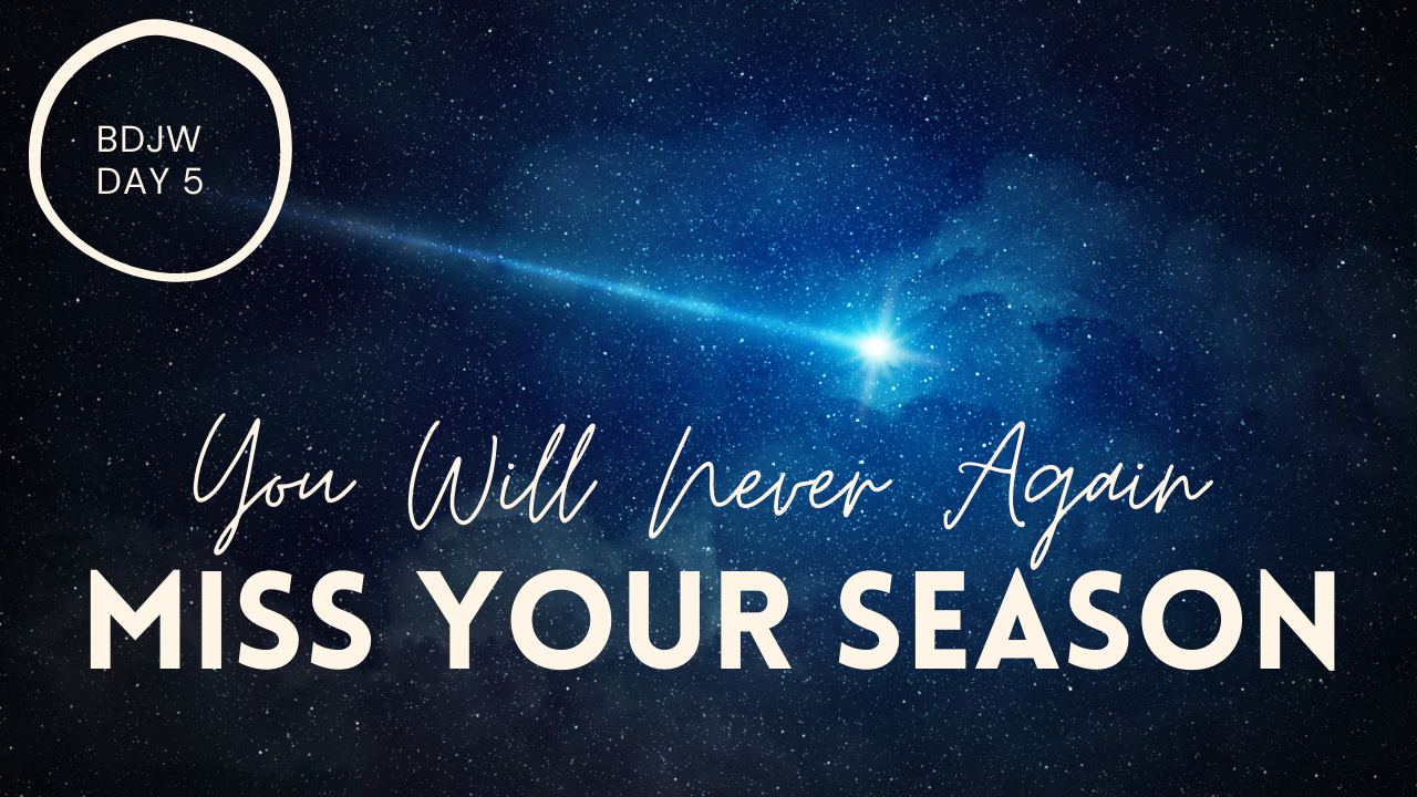 Prophet Climate Ministries bdjw-5-2 BDJW 5: This Is The Reason Why You Always Miss Your Season For Breakthrough ... But If You Follow This Instruction... You Will Never Miss It Again!